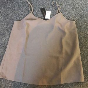 NWT Banana Republic Gray tank size M